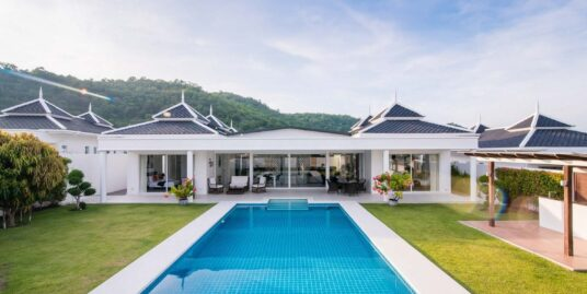 Exceptional 3-Bedroom Pool Villa in Hua Hin at Falcon Hill