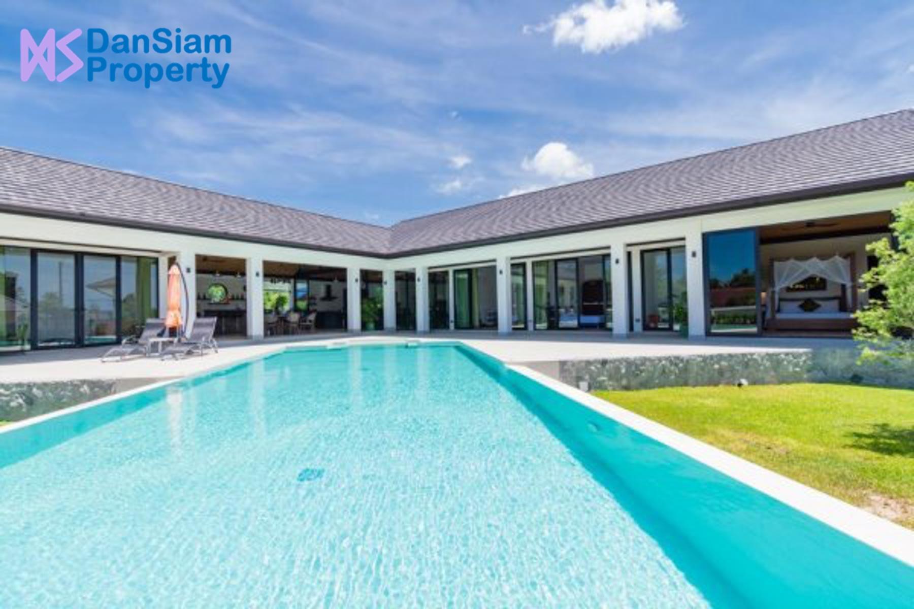 Luxury 5-Bedroom Pool Villa in Hua Hin with big Land Plot