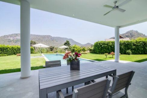04 Large covered terrace next to 80sqm lap pool