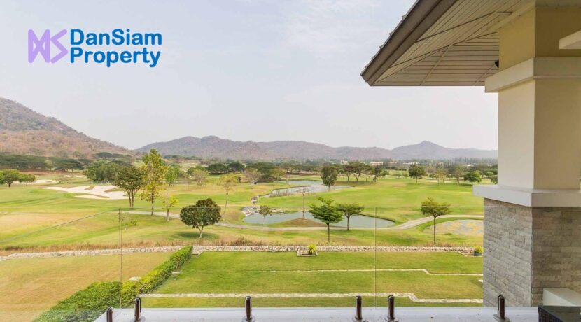 41 Balcony view to golf course
