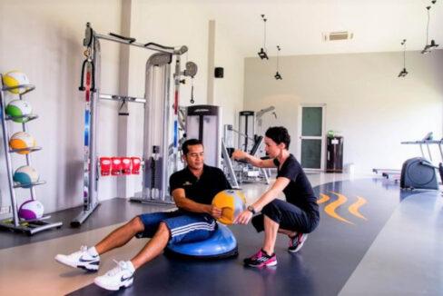60 Gym room