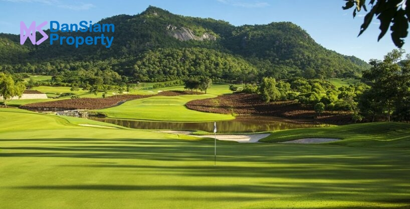 Golf Mansion in Hua Hin next to Black Mountain Golf Course
