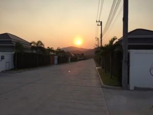 Sunset at Palm Villas